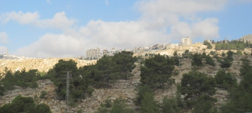 Окраины Иерусалима.