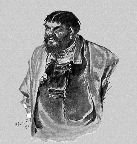 Малюта Скуратов. Художник К. В. Лебедев (1892 г.)