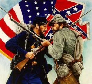 Плакат времен Гражданской войны в США (1861-1865 гг.)