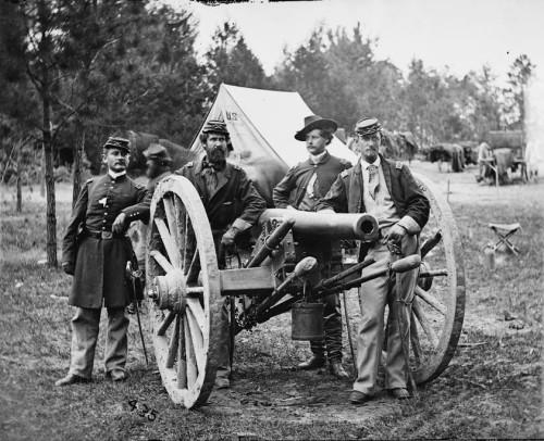Редкие фотоснимки военнослужащих американской армии времен Гражданской войны в США (1861-1865 гг.)