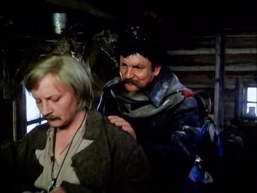 Эпизод ареста в Елани беглого каторжника, бывшего боевика-революционера, в исполнении Михаила Кононова